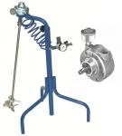 Agitatore pneumatico 2 AM su trepiedi e motore ad aria